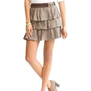 Banana Republic Layered Tiered Ruffle Skirt sz 10